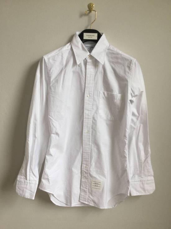 Thom Browne Brand New Oxford Classic Shirt Size US M / EU 48-50 / 2