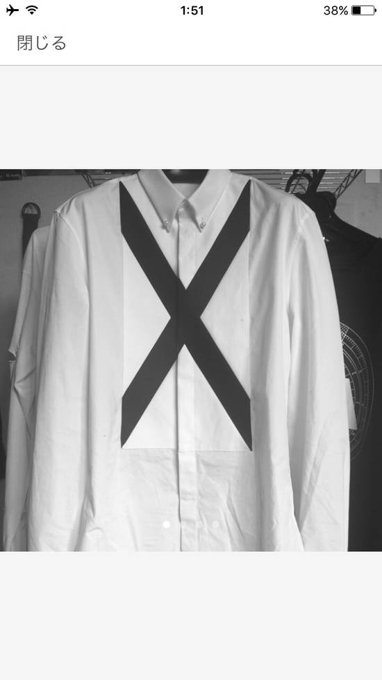 Givenchy Givenchy 15SS Collection Line Shirt Size 40 Size US M / EU 48-50 / 2