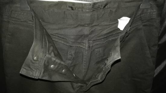 Julius Limited Wrinkle Arch Knee Bottom Zip Biker Jeans Size US 31 - 6
