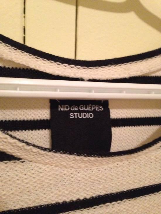 nid de guepes nid de guepes marin tee size m short. Black Bedroom Furniture Sets. Home Design Ideas