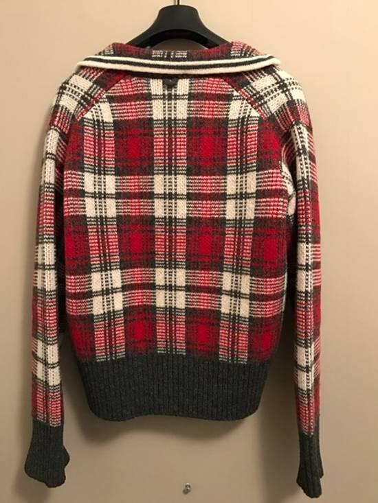 Thom Browne Wool Plaid Cardigan Jacket Size BB3 VERY RARE Size US L / EU 52-54 / 3 - 4