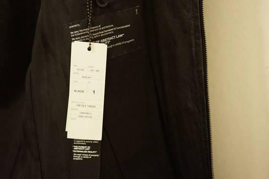 Julius Lamb Leather Jacket - s/s 11 Chaos Ontological Anarchism Size US S / EU 44-46 / 1 - 7