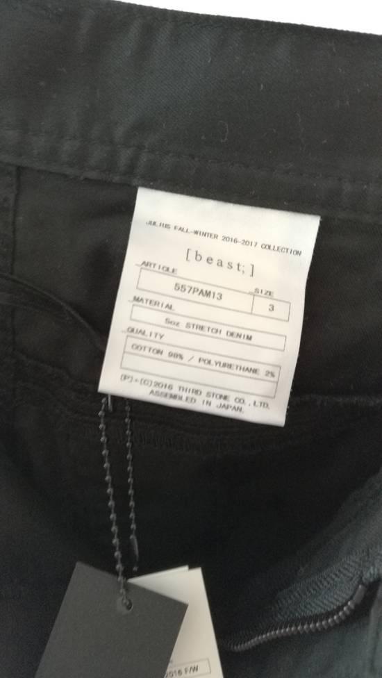 Julius 2016AW 5oz Wrap Around Jeans Size 3 Size US 34 / EU 50 - 6