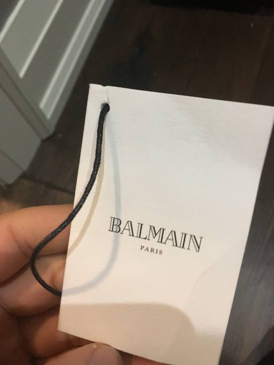 Balmain Distress army biker Size US 32 / EU 48 - 6