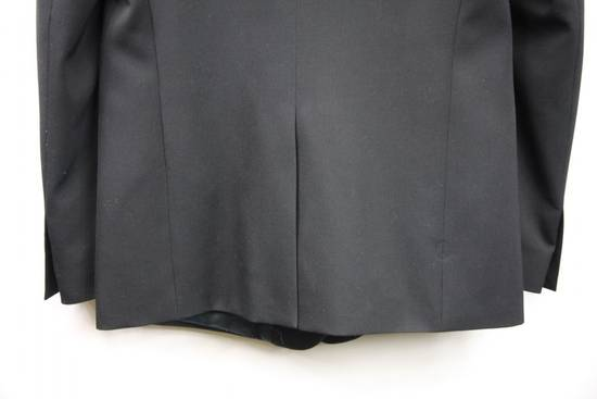 Balmain $2500 Balmain Slim Black One Button Wool Blazer Jacket Blouson Sz 50 48 M Medium Size 40R - 6