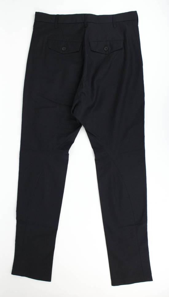 Julius 7 Black Cotton Blend Casual Trousers Pants Size 2/S Size US 32 / EU 48 - 4