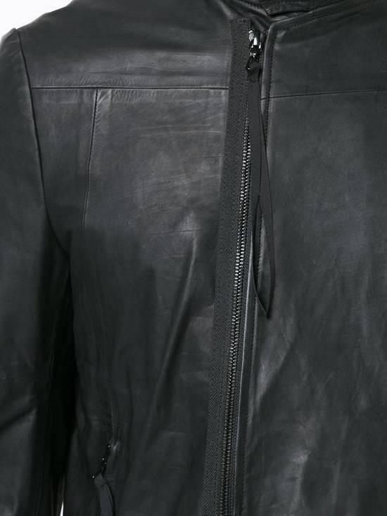 Julius Black Leather Jacket Size US M / EU 48-50 / 2 - 2