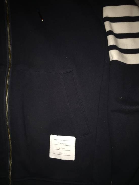 Thom Browne Thom Browne 4 stripe navy blue sweatshirt Size US XXL / EU 58 / 5 - 1