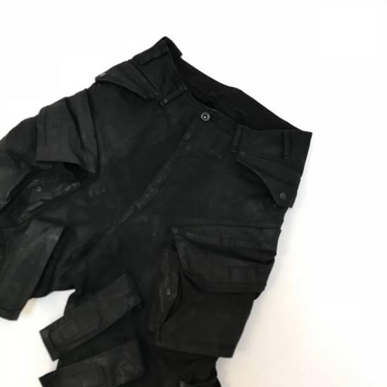 Julius FW15 Sphere/Gas Mask Waxed Denim Cargo Pants Size US 30 / EU 46 - 2