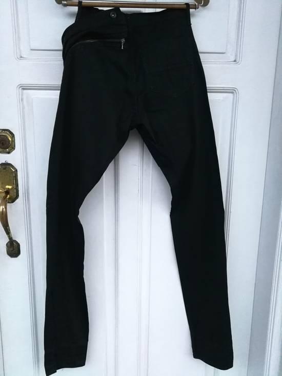 Julius MA JULIUS SS11 Black Denim with Zippered Waist Detail Size US 30 / EU 46 - 5