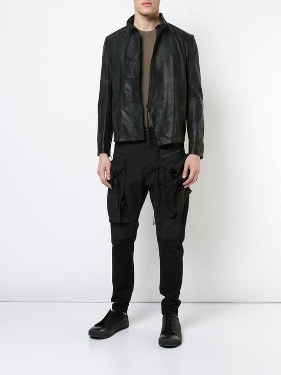 Julius Black Leather Jacket Size US M / EU 48-50 / 2 - 4