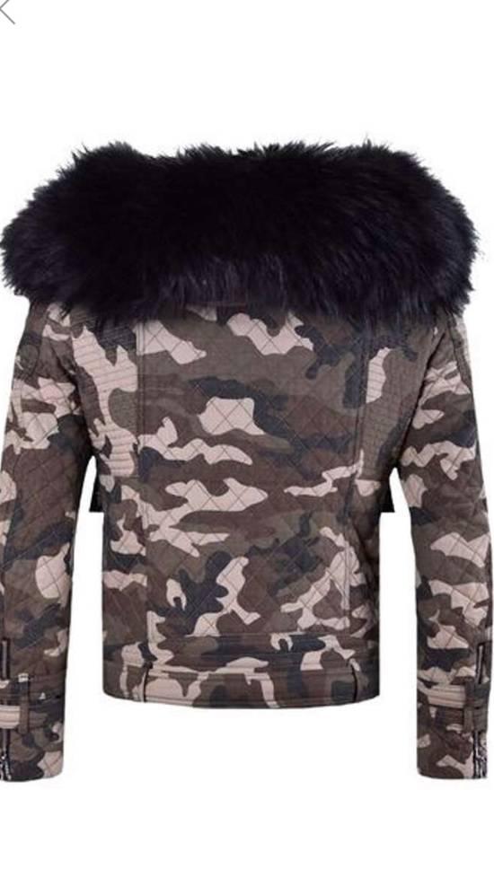 Balmain Raccoon Fur Hooded Jacket Size US M / EU 48-50 / 2 - 8