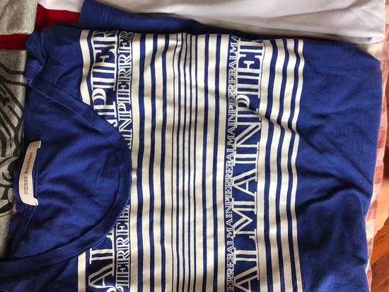 Balmain LAST DROP*** Balmain Logo Blue T-Shirt Size US M / EU 48-50 / 2 - 1