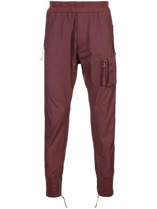 Julius Burgandy Pants Size US 30 / EU 46 - 2
