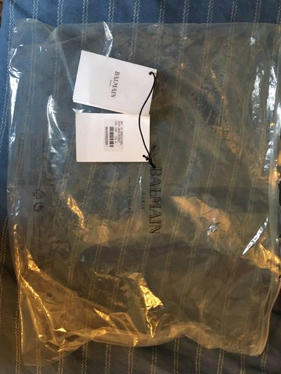 Balmain Navy Pullover Dual Zippers/Shoulder Patches Size US L / EU 52-54 / 3 - 4