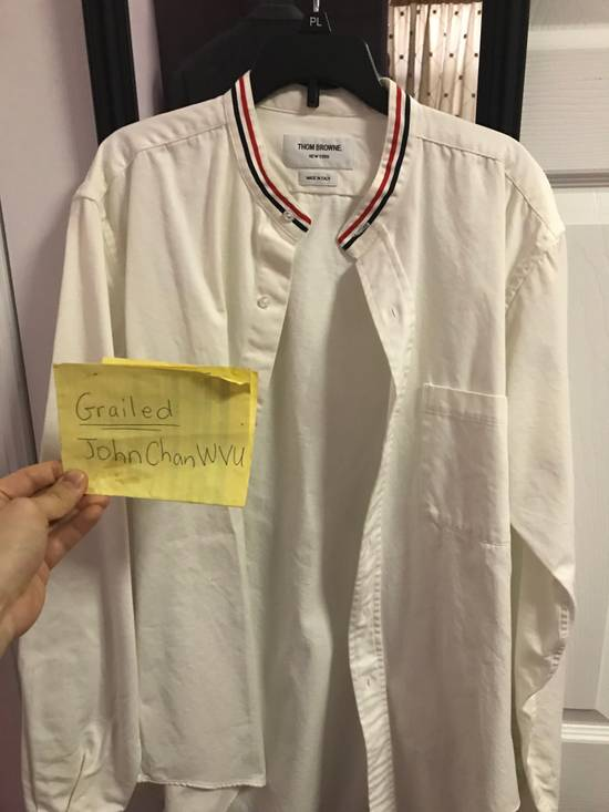 Thom Browne Them Browne collarless shirt RARE Size US L / EU 52-54 / 3