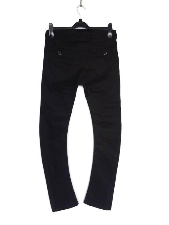 Julius Japanese Artist Designer Blue Tornado Cotton Twill Twist Leg Skinny Trousers Pants Inspired by MA_Julius Size US 30 / EU 46 - 4