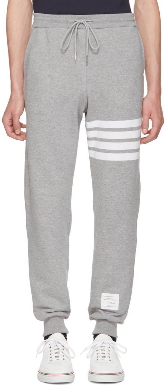 Thom Browne THOM BROWNE Grey 4 Bar Lounge Pants Size US 34 / EU 50