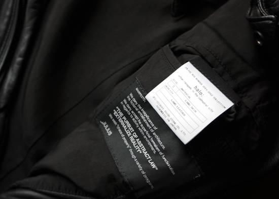 Julius Super rare JULIUS MID-WINTER 2011-2012 HALO MOTO leather jacket Size US L / EU 52-54 / 3 - 5
