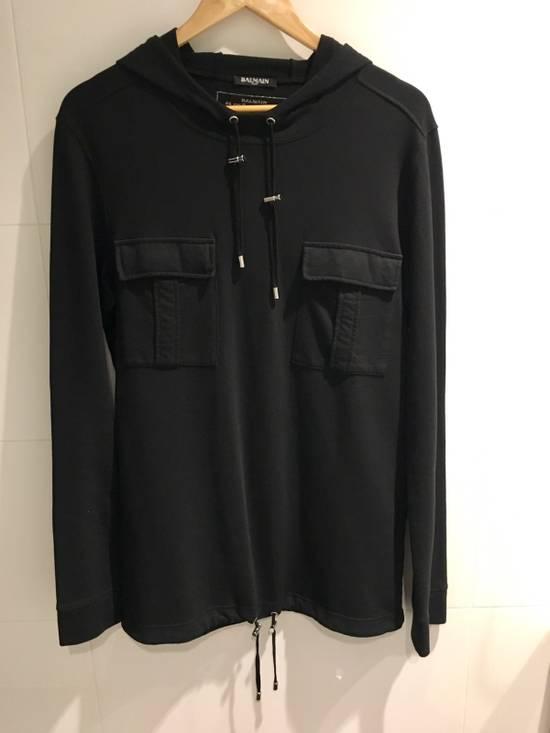 Balmain Hooded Long Sleeve T-Shirt Size US S / EU 44-46 / 1