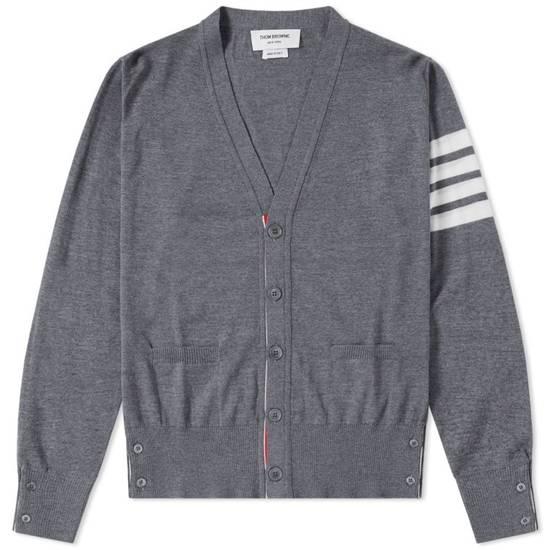 Thom Browne Merino Wool 4 Bar Cardigan Size US L / EU 52-54 / 3 - 9