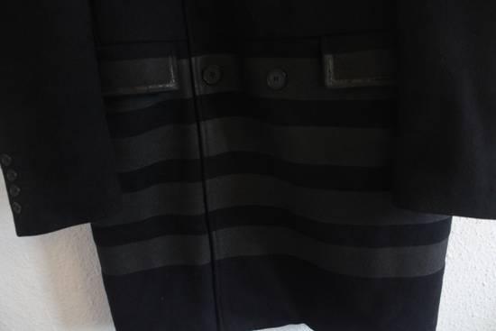 Helmut  Lang AW97 OG Archival Resin Stripe Military Coat Size US M / EU 48-50 / 2 - 4