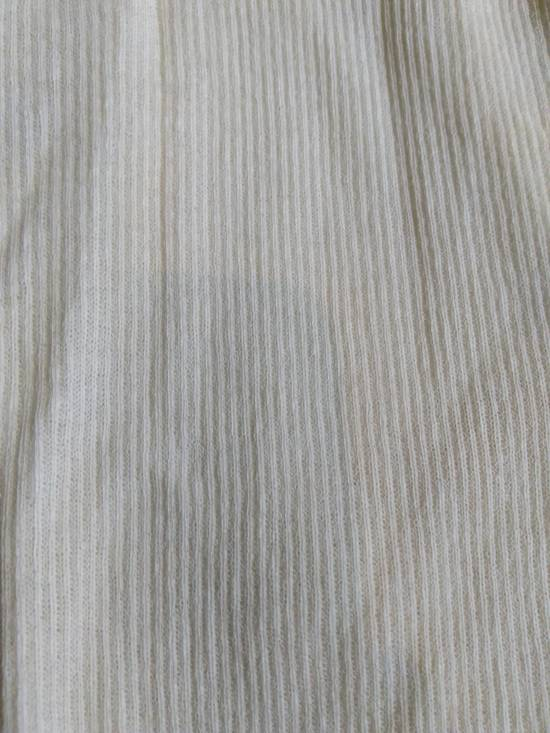 Julius Shredded Hem Ribbed Tank Top White Size US M / EU 48-50 / 2 - 5