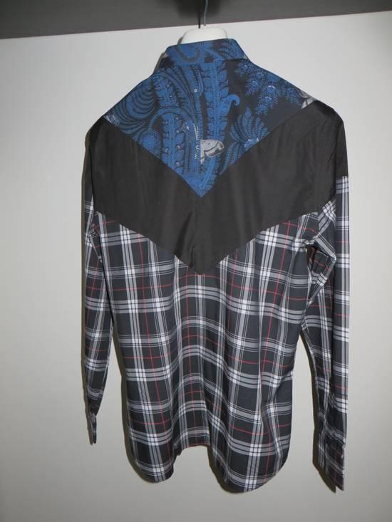 Givenchy Paisley check-print shirt Size US M / EU 48-50 / 2 - 3