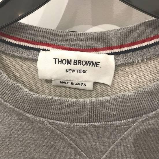Thom Browne classic Striped Loopback grey sweatshirt Size US M / EU 48-50 / 2 - 1