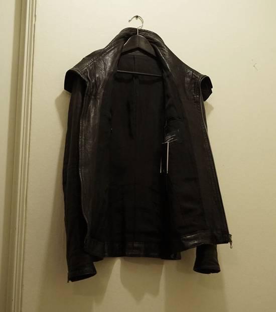 Julius Lamb Leather Jacket - s/s 11 Chaos Ontological Anarchism Size US S / EU 44-46 / 1 - 1