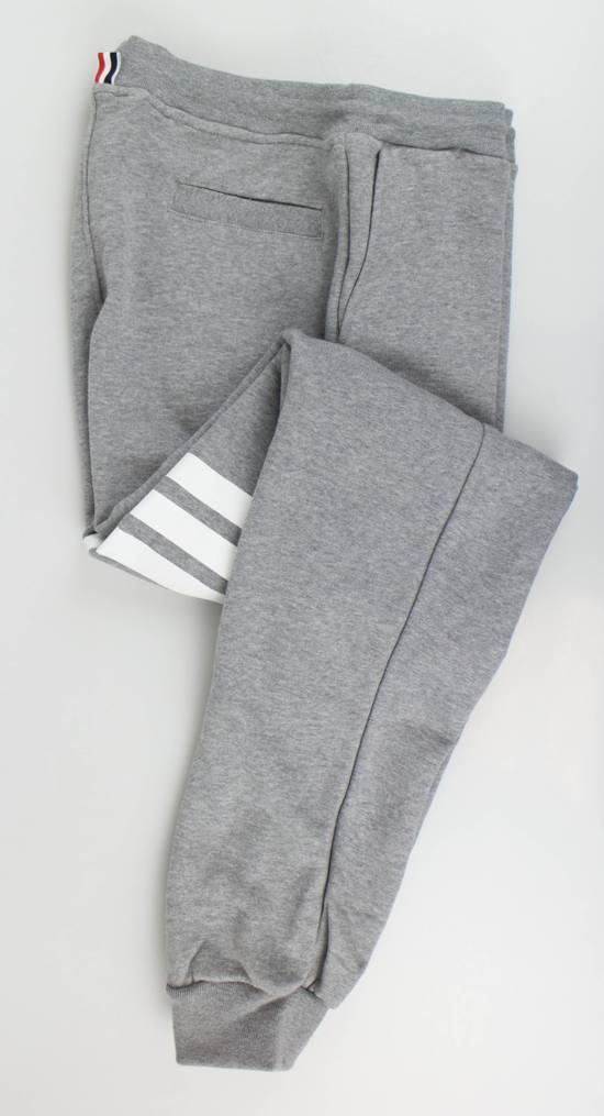 Thom Browne New Thom Browne Gray Cotton Sweat Pants Size US 36 / EU 52