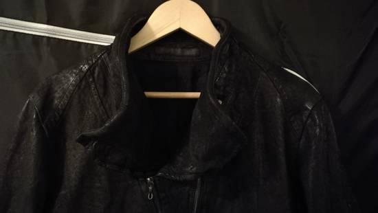 Julius BNWT Size 4 Moldable Collar Leather High Neck Jacket Size US XL / EU 56 / 4 - 10