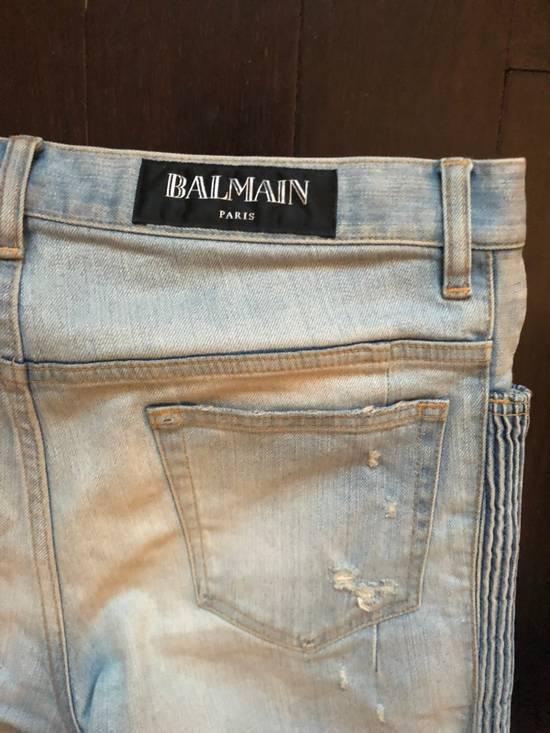Balmain Balmain jeans distressed light indigo Size US 31 - 6