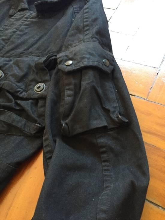 Julius AW08 Gas mask cargo pocket denim jacket Size US S / EU 44-46 / 1 - 5
