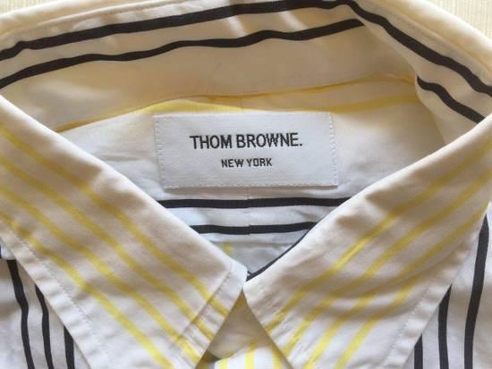 Thom Browne Short Sleeve Striped Shirt Size US L / EU 52-54 / 3 - 3