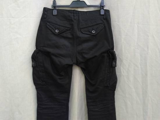 Julius FW09 Black Slim Gas Mask Cargo Pants Size US 30 / EU 46 - 3