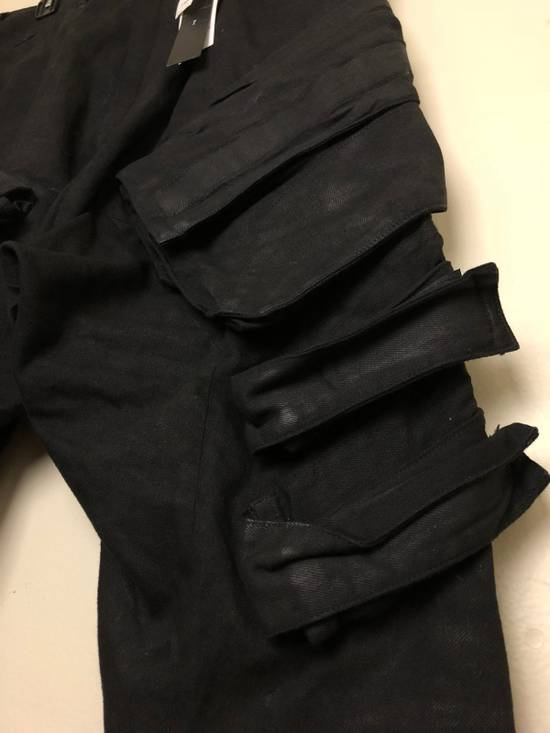 "Julius 2015 ""Prism"" Waxed Cargo Pants NEW Size US 36 / EU 52 - 9"