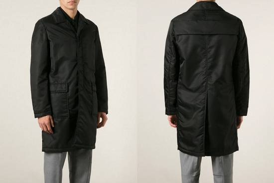 Givenchy $3200 Givenchy Long Padded Nylon Rottweiler Shark Overcoat Jacket size M (L) Size US M / EU 48-50 / 2 - 3