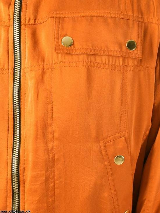 Balmain Orange Bomber Jacket Size US S / EU 44-46 / 1 - 3