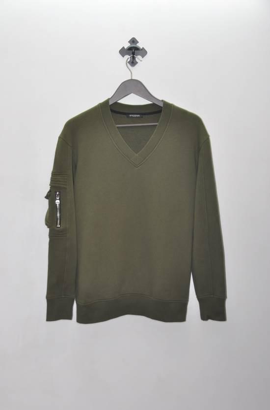Balmain Balmain Khaki Sweatshirt Size US M / EU 48-50 / 2
