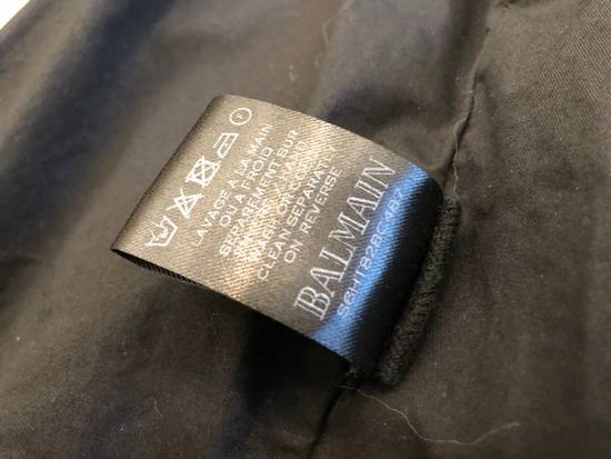 Balmain Canvas Biker Jacket Size US M / EU 48-50 / 2 - 4