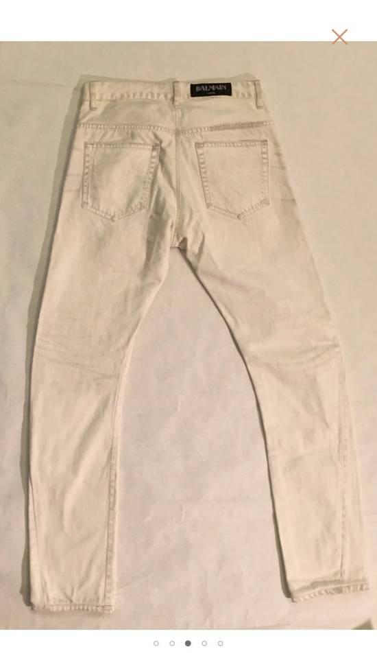 Balmain White Denim Size US 30 / EU 46 - 2