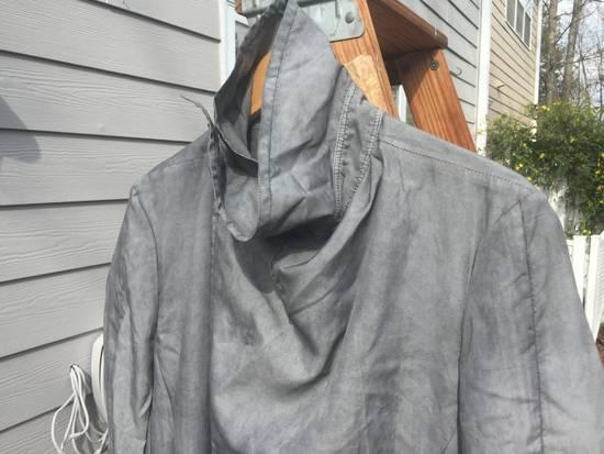 Julius SS14 Silk/Nylon Dusty Grey Coat Size US M / EU 48-50 / 2 - 7