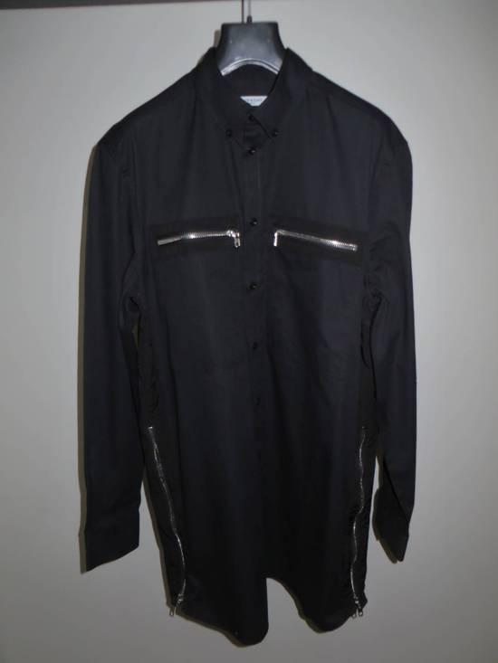 Givenchy Black zipped shirt Size US XL / EU 56 / 4 - 1