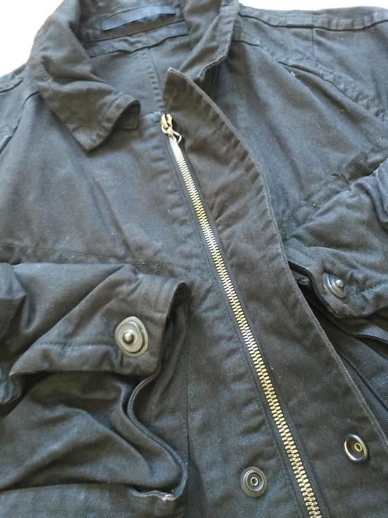 Julius AW08 Gas mask cargo pocket denim jacket Size US S / EU 44-46 / 1 - 6