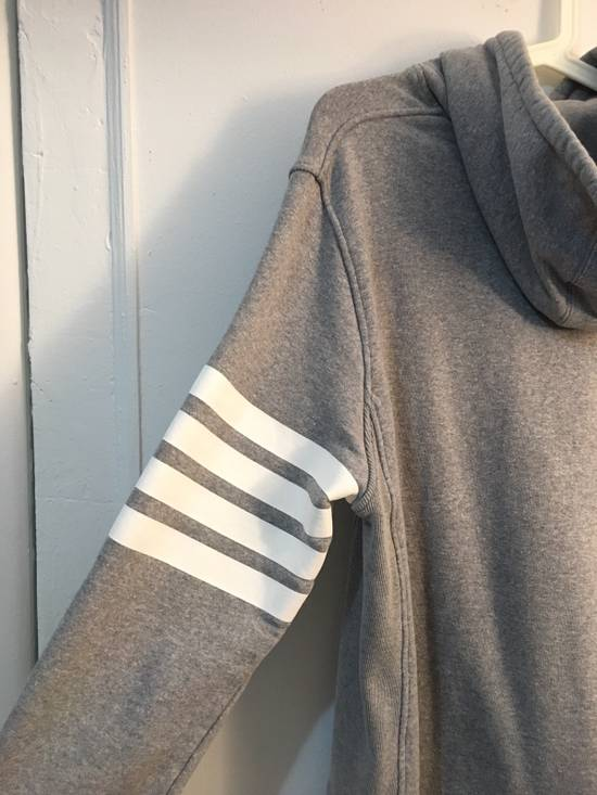 Thom Browne [RARE] Gray Thom Brown 4 Striped Pullover Hoodie Size 2 Size US M / EU 48-50 / 2 - 3