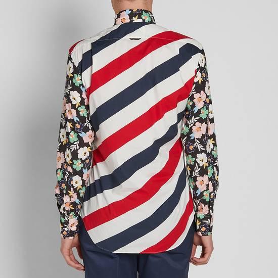 Thom Browne SS17 floral diagonal stripe shirt, BNWT Size US M / EU 48-50 / 2 - 2