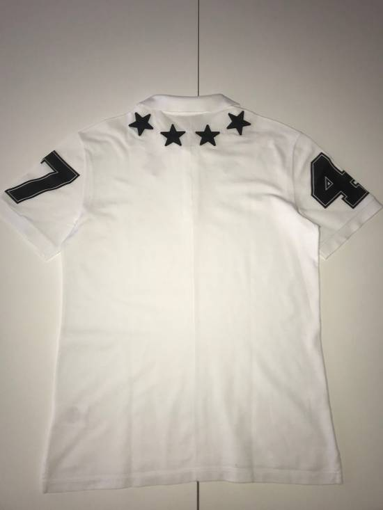 Givenchy Givenchy White Polo With Embroidered Stars Size US XL / EU 56 / 4 - 2