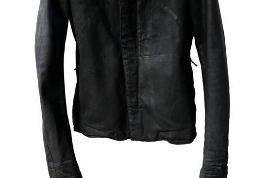Julius JULIUS _7 ma moto black knit denium biker jacket sz1 eu44 46 xs s slim fit Japan Size US S / EU 44-46 / 1 - 7