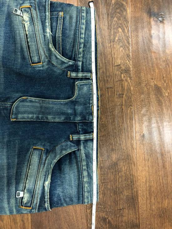 Balmain Balmain Destroyed Slim Fit Biker Jeans Size US 32 / EU 48 - 13